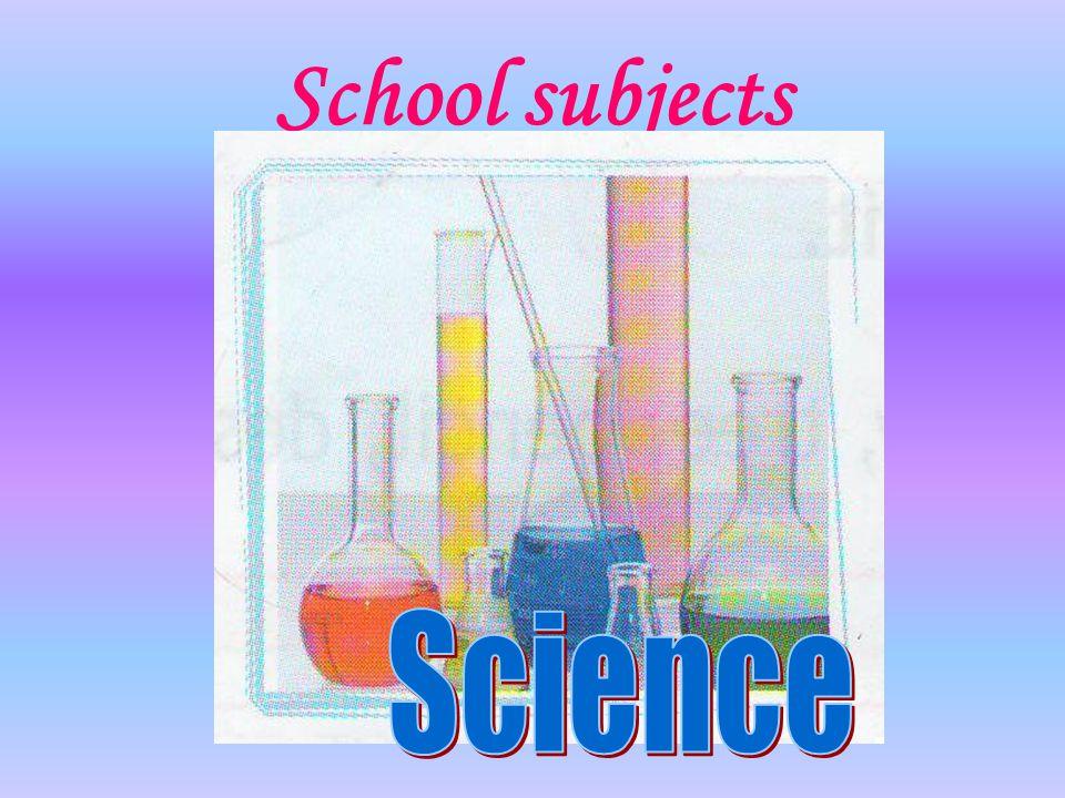 School subjects Science