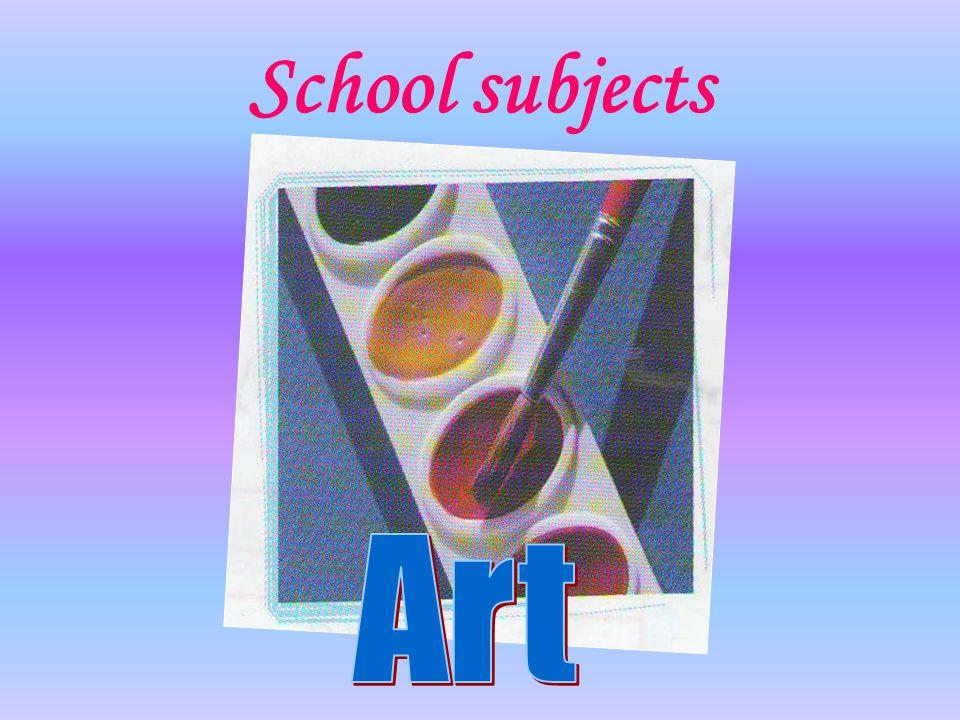 School subjects Art