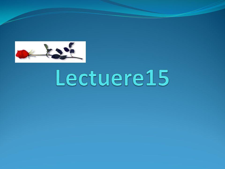 Lectuere15