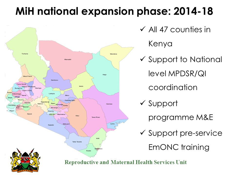 MiH national expansion phase: 2014-18