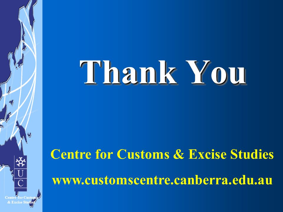 Centre for Customs & Excise Studies