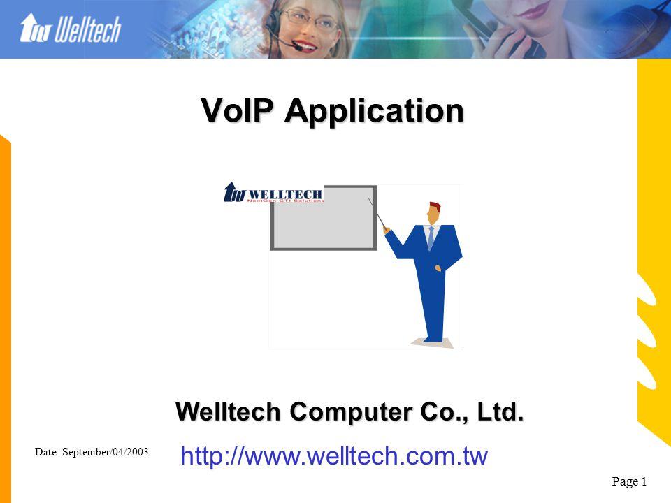 Welltech Computer Co., Ltd.