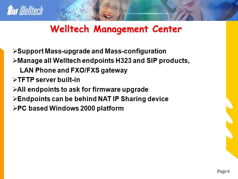 Welltech Management Center