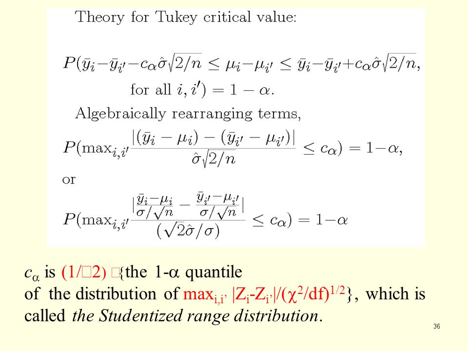 ca is (1/Ö2) ´{the 1-a quantile