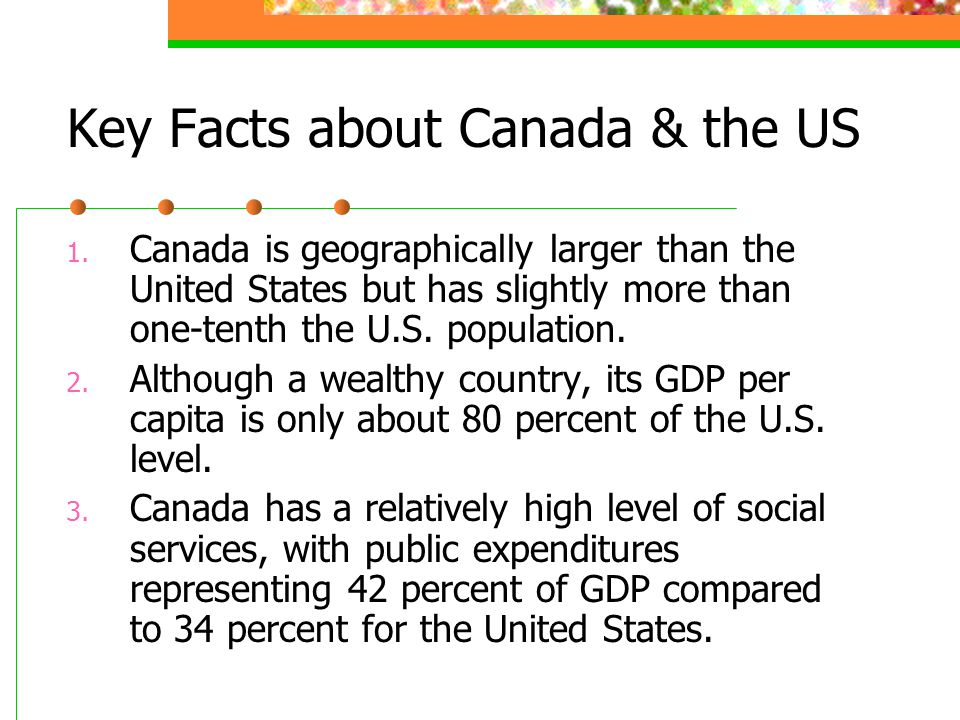 Key Facts about Canada & the US