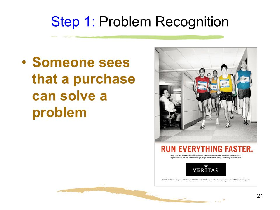 Step 1: Problem Recognition