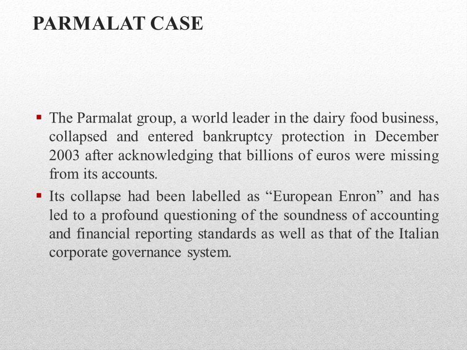 PARMALAT CASE
