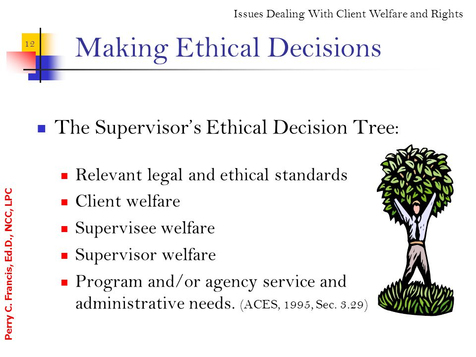ache standards in ethical decision making Examine the effect of professional ache standards on your ethical decision- making process explain how your individual ethics influence your decision- making process.