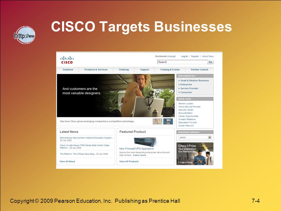 CISCO Targets Businesses