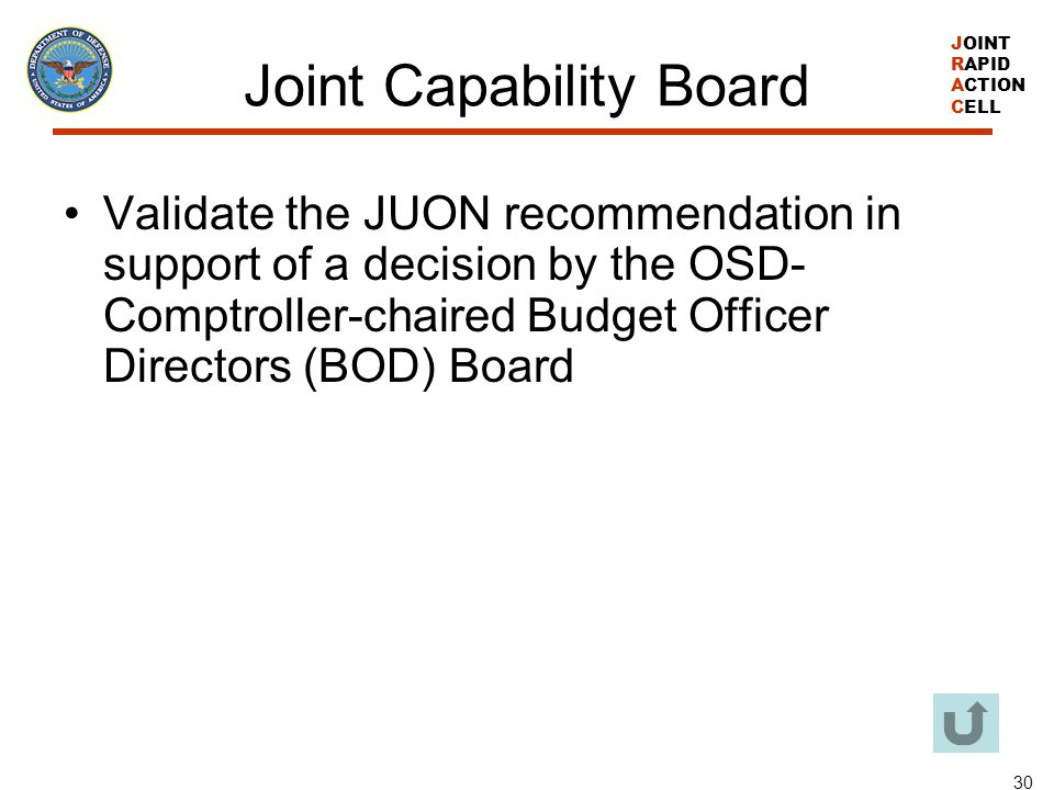 Joint Capability Board