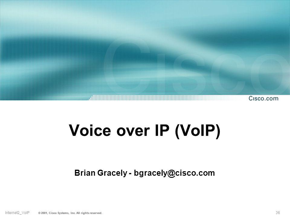 Brian Gracely - bgracely@cisco.com