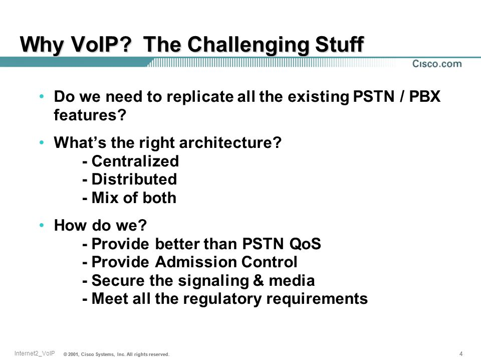 Why VoIP The Challenging Stuff
