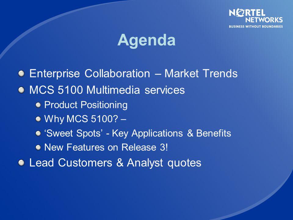 Agenda Enterprise Collaboration – Market Trends