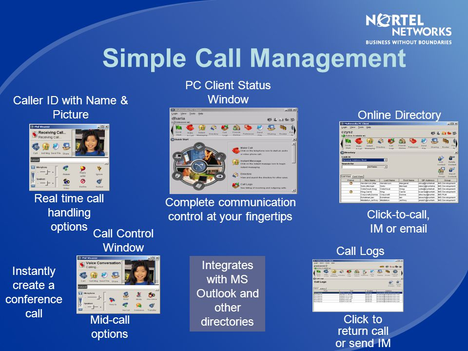 Simple Call Management