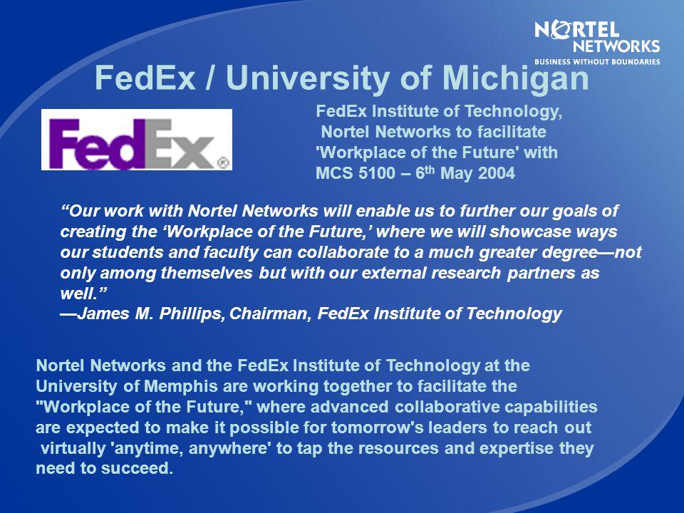 FedEx / University of Michigan