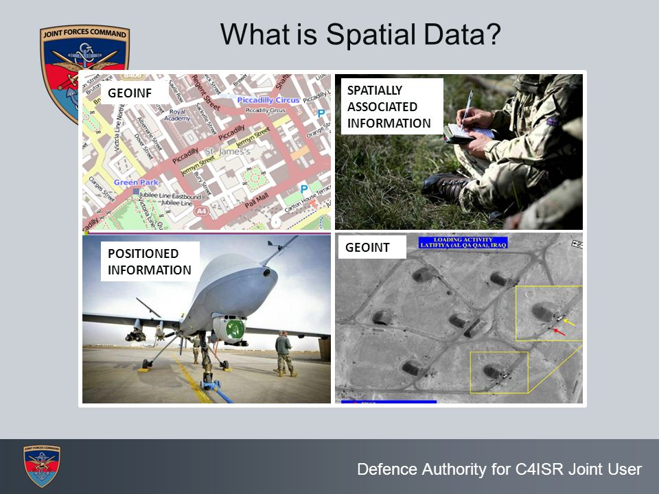 What is Spatial Data SPATIALLY ASSOCIATED GEOINF INFORMATION GEOINT