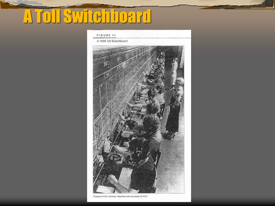 A Toll Switchboard