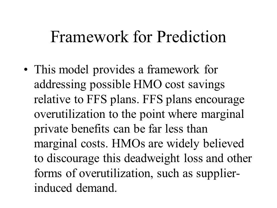 Framework for Prediction