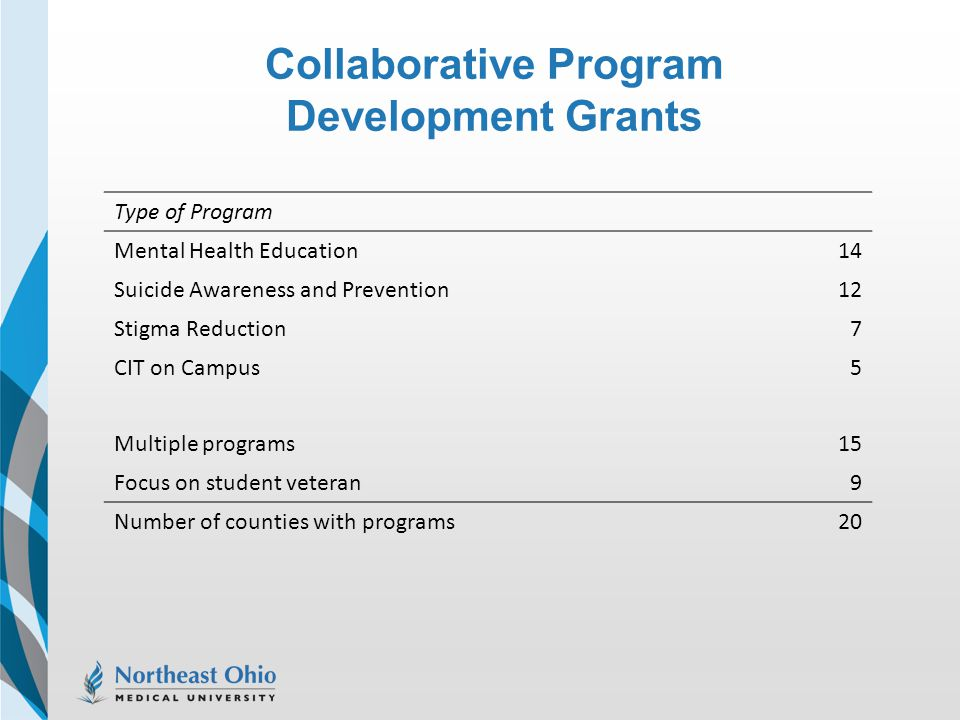 Collaborative Program Development Grants