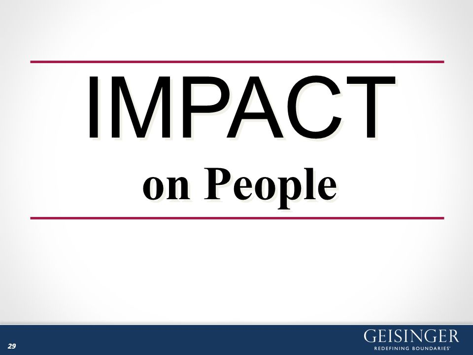 IMPACT on People