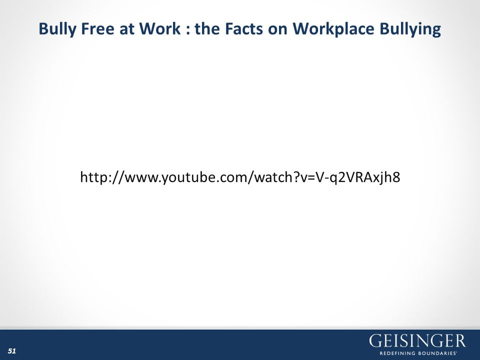 Bully Free at Work : the Facts on Workplace Bullying