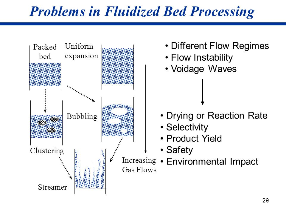 Problems in Fluidized Bed Processing