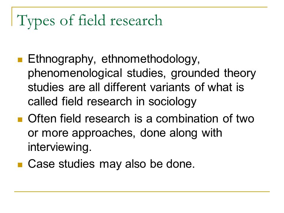 Ethnomethodology grounded theory study