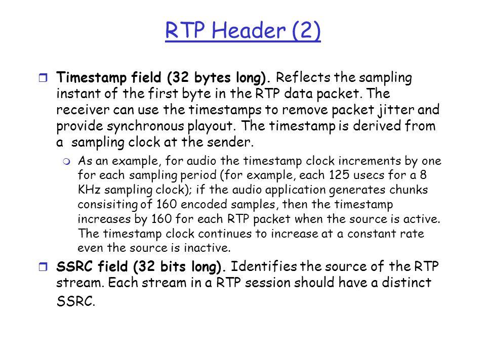 RTP Header (2)