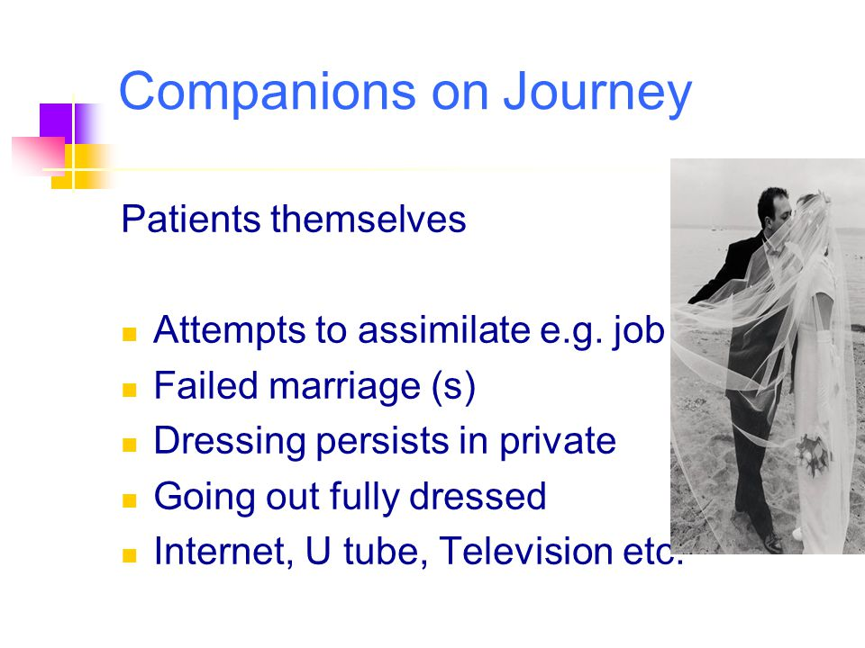 Companions on Journey Patients themselves