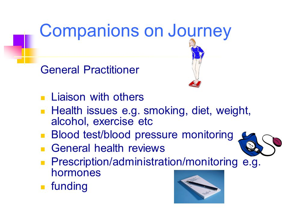 Companions on Journey General Practitioner Liaison with others