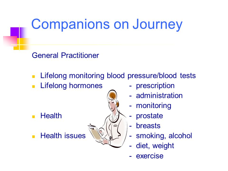 Companions on Journey General Practitioner