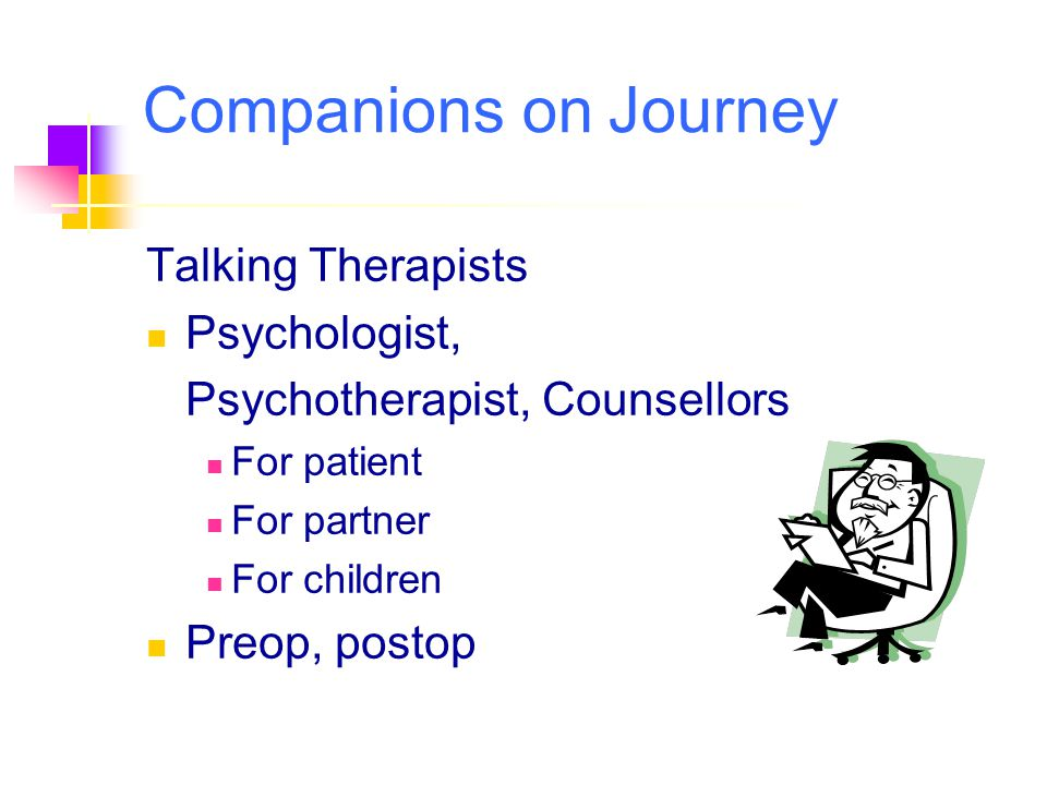 Companions on Journey Talking Therapists Psychologist,