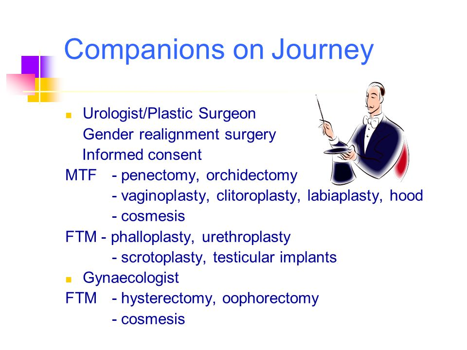 Companions on Journey Urologist/Plastic Surgeon