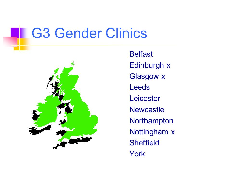 G3 Gender Clinics Belfast Edinburgh x Glasgow x Leeds Leicester