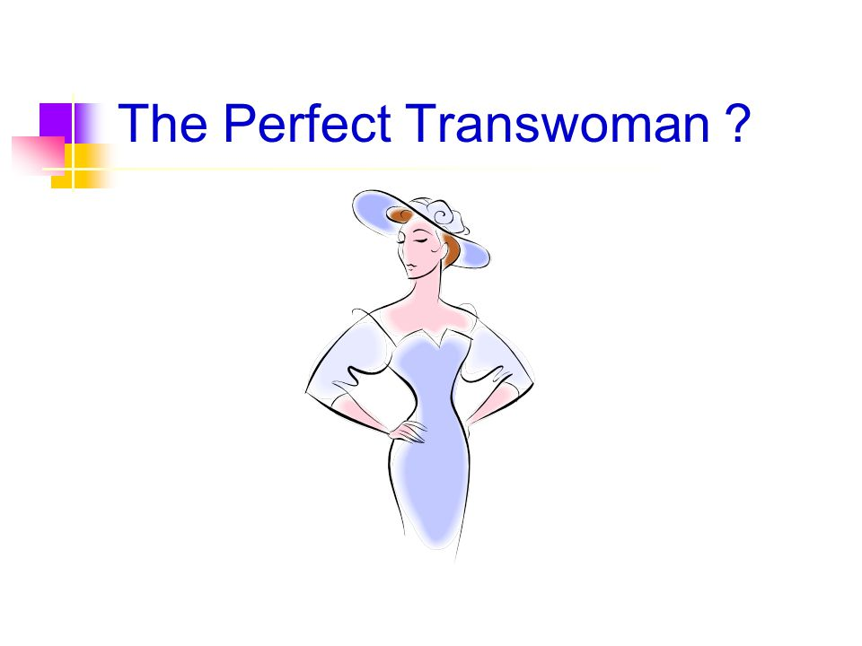 The Perfect Transwoman