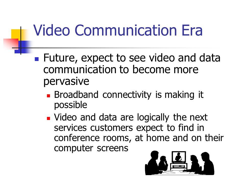Video Communication Era