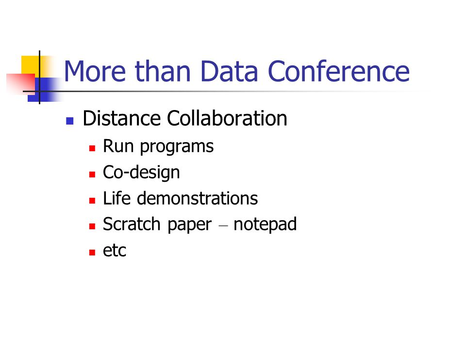 More than Data Conference