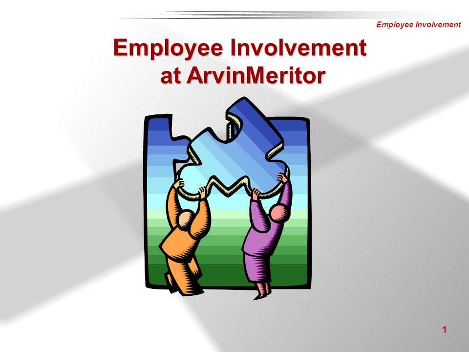 Employee Involvement at ArvinMeritor