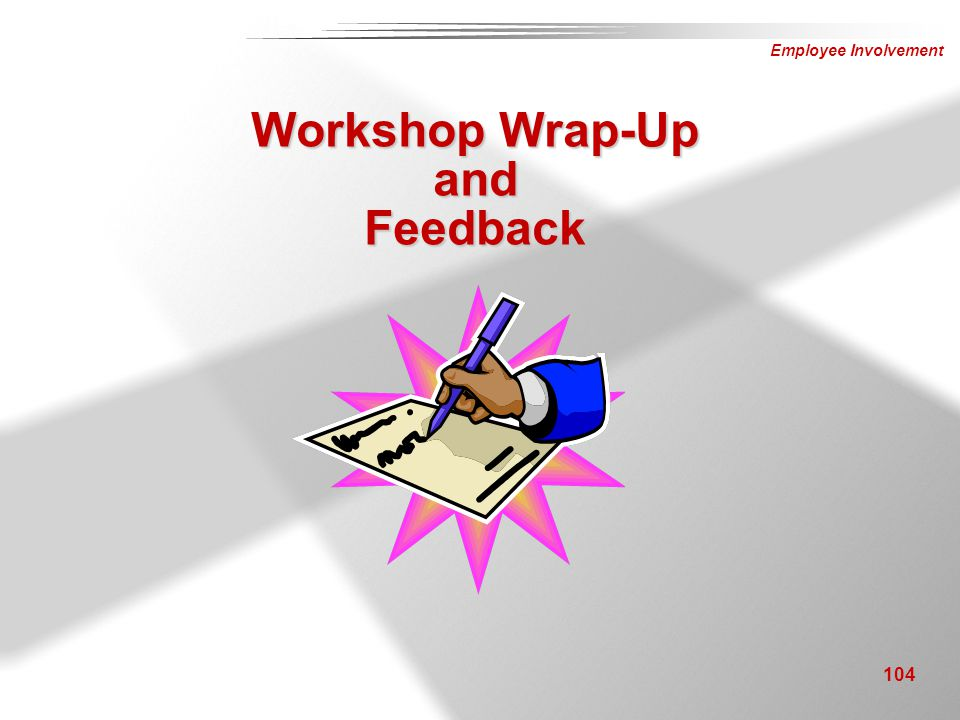Workshop Wrap-Up and Feedback