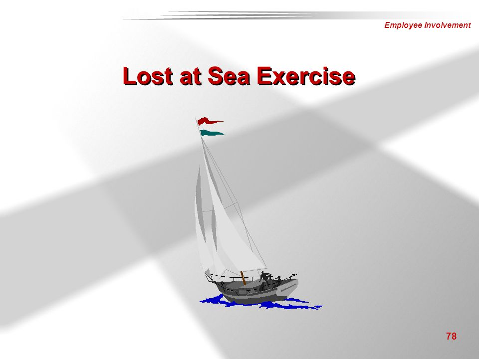 Lost at Sea Exercise Instructor Notes: