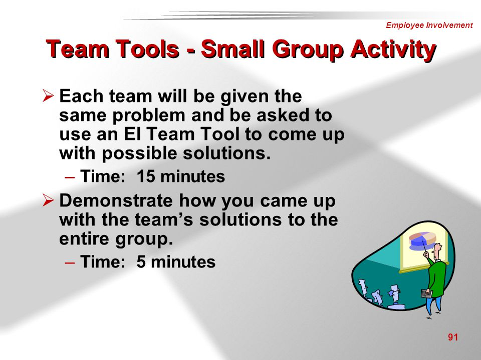 Team Tools - Small Group Activity