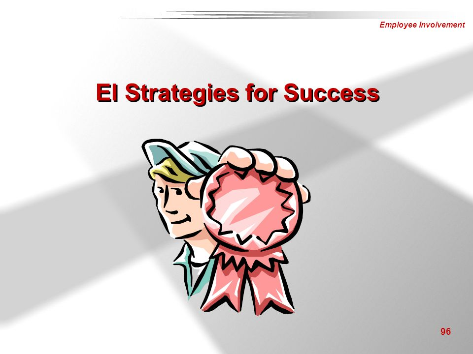 EI Strategies for Success
