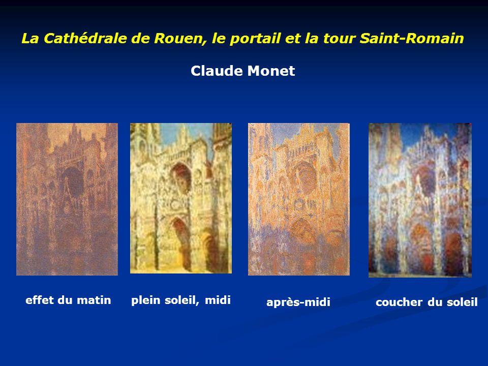 La Cathédrale de Rouen, le portail et la tour Saint-Romain