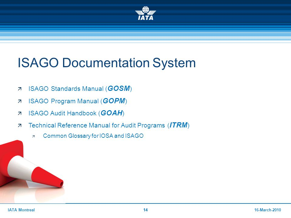 ISAGO Documentation System
