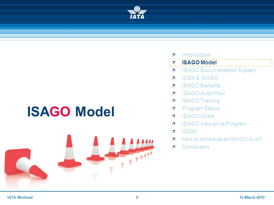 ISAGO Model Introduction ISAGO Model ISAGO Documentation System