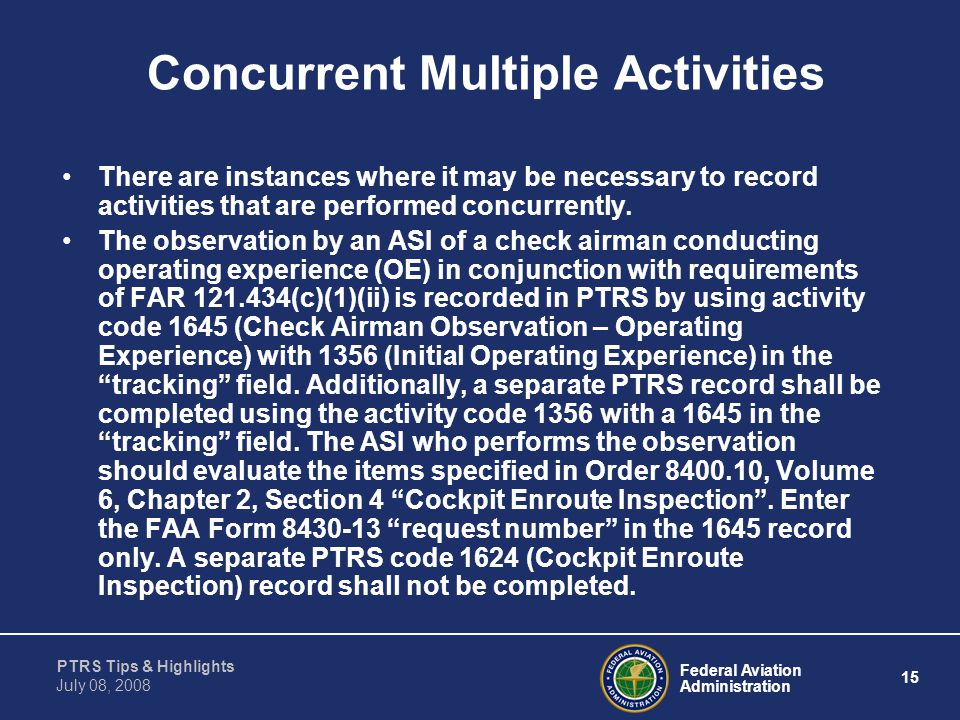 Concurrent Multiple Activities