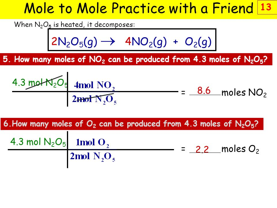 Mole to Mole Practice with a Friend
