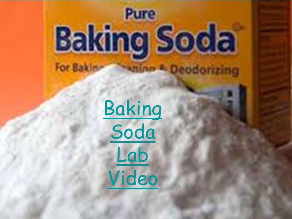 Baking Soda Lab Video