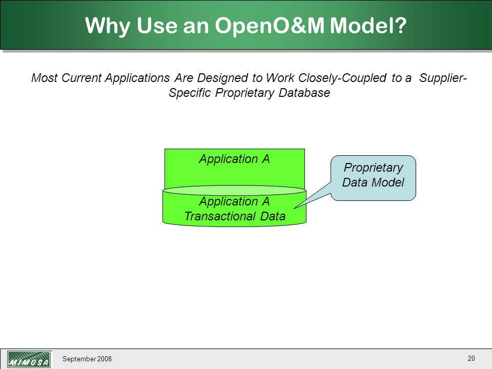 Why Use an OpenO&M Model