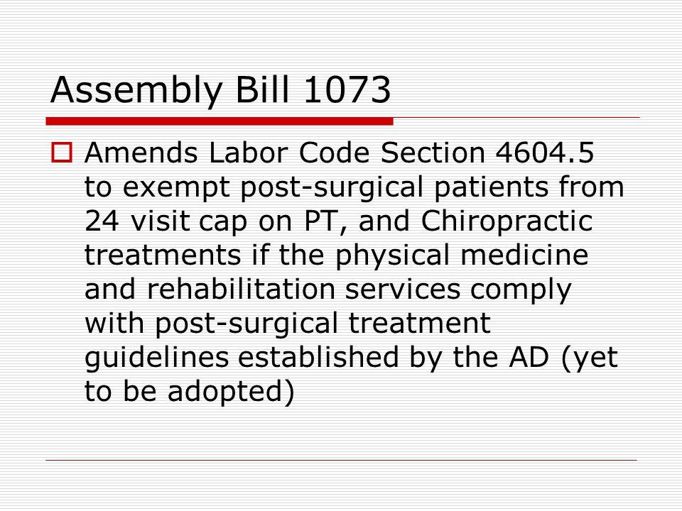 Assembly Bill 1073